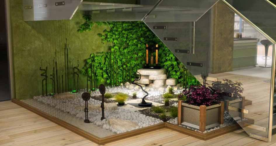 Taman Dalam Ruangan Rumah Jasa Pembuatan Taman Murah