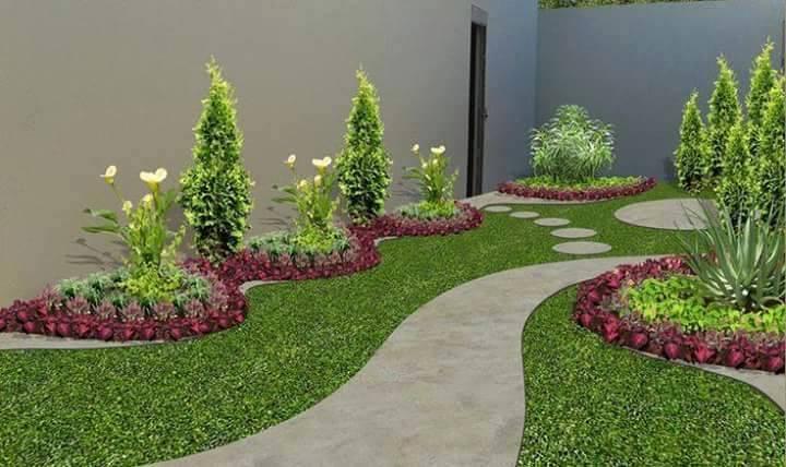 Taman Depan Rumah Minimalis Jasa Pembuatan Taman Murah