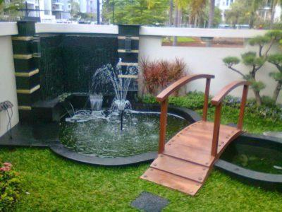 Taman Air Mancur Minimalis
